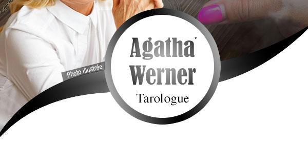 Agatha Werner vous répond par Tchat